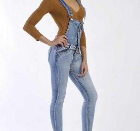 Salopette : le grand retour de ce vêtement célèbre et  tendance en jean