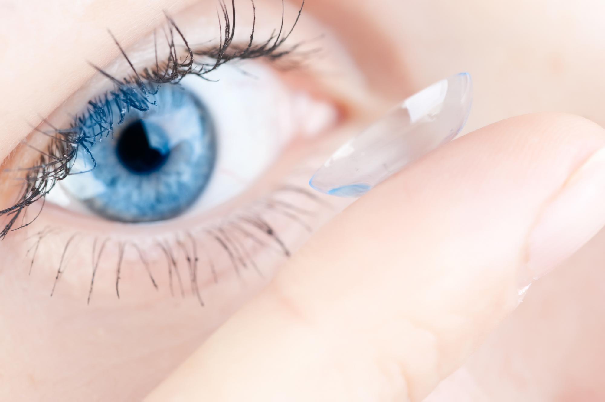 Les lentilles de contact pour un port occasionnel